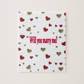 Will you marry me? jigsaw puzzle