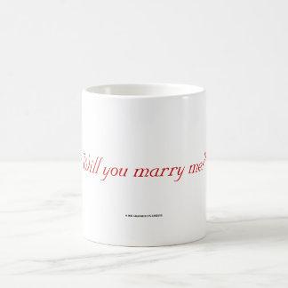 Will You Marry Me? Magic Mug