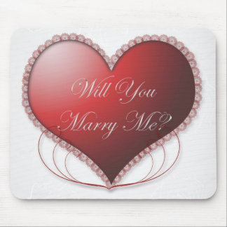 Will You Marry Me Mousepad