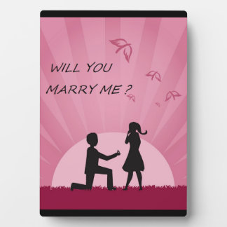 WILL YOU MARRY ME? PLAQUE