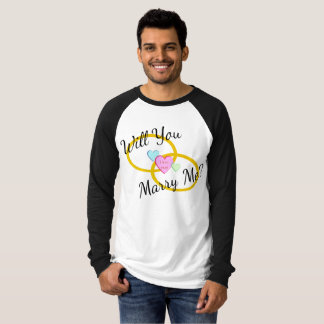 Will You Marry Me? Proposal T-Shirt