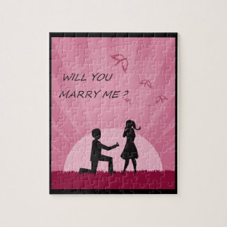 WILL YOU MARRY ME? PUZZLES