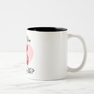 Will you marry me? Two-Tone coffee mug