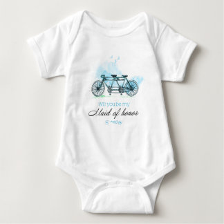 Will you sees my Maid of Honor Baby Bodysuit
