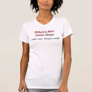 Willard & Ann Romney's Caddie Shoppe T Shirts