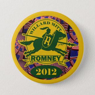 Willard Mitt Romney 2012 3 Inch Round Button