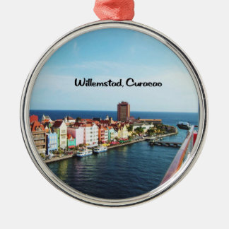 Willemstad Curacao Metal Ornament