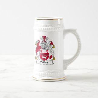 Willet Family Crest Beer Stein