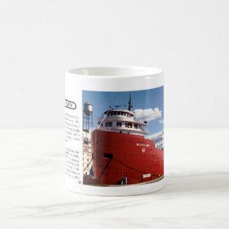 William A. Irving museum mug