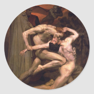 William-Adolphe_Bouguereau_(1825-1905)_-_Dan Classic Round Sticker