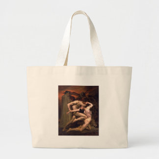 William-Adolphe_Bouguereau_(1825-1905)_-_Dan Large Tote Bag
