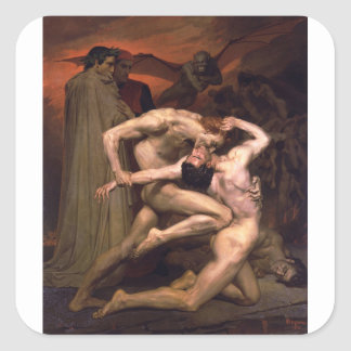William-Adolphe_Bouguereau_(1825-1905)_-_Dan Square Sticker