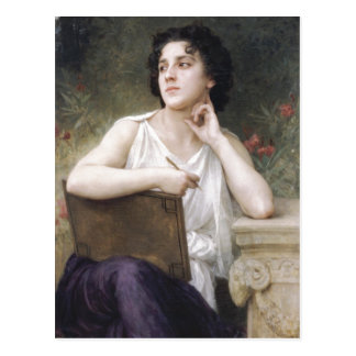 William-Adolphe Bouguereau (1825-1905) - Inspirati Postcard