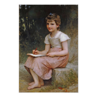 William-Adolphe Bouguereau-A Calling 1896 Poster