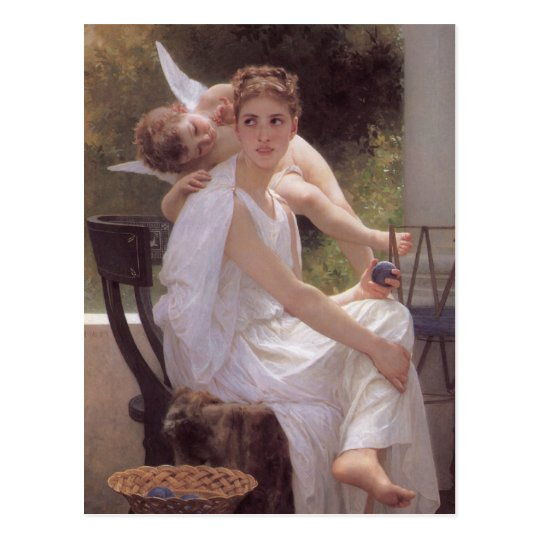 William Adolphe Bouguereau art Postcard