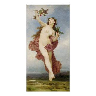 William-Adolphe Bouguereau-Day Poster