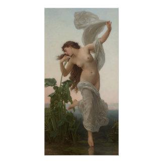 William-Adolphe Bouguereau  L'aurore Dawn Poster