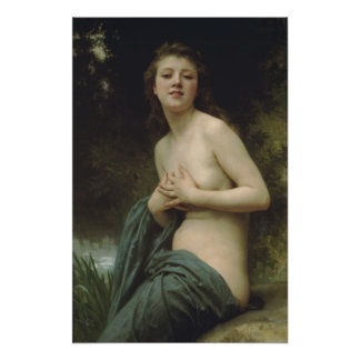 William-Adolphe Bouguereau-Spring Breeze Poster