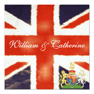 William and Catherine Royal Wedding Party Invite