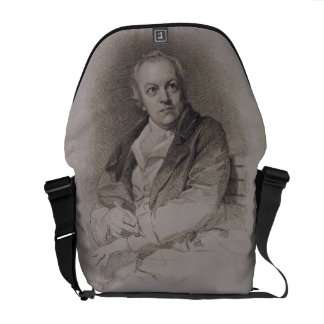 William Blake (1757-1827) engraved by Luigi Schiav Commuter Bag