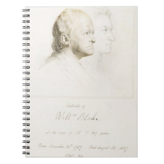 William Blake (1757-1827) in Youth and Age (graphi Spiral Notebook