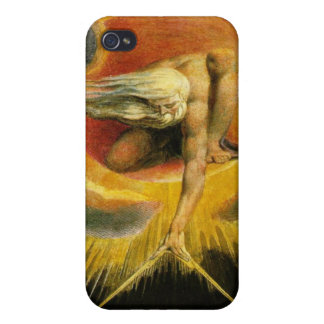 William Blake - Ancient of Days Painting  iPhone 4 Cases