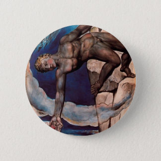 William Blake- Antaeus setting down Dante & Virgil 2 Inch Round Button