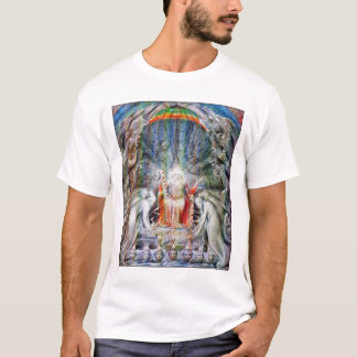 William Blake: Before the Divine Throne T-Shirt