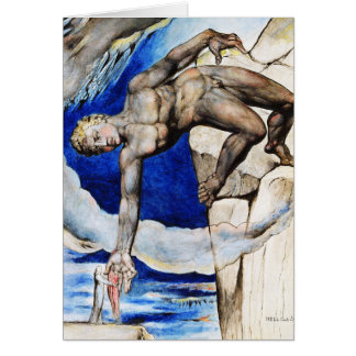 William Blake Illustration: Dante's Divine Comedy Card