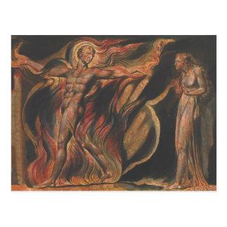 William Blake - Jerusalem, Plate 26, Such Visions Postcard