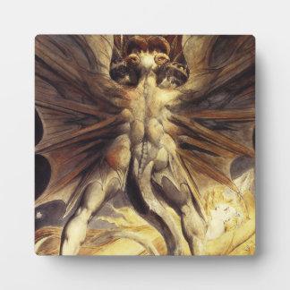 William Blake Red Dragon Plaque
