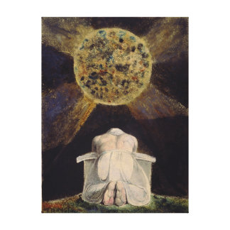 William Blake Urizen Prays Before the Earth Canvas Print