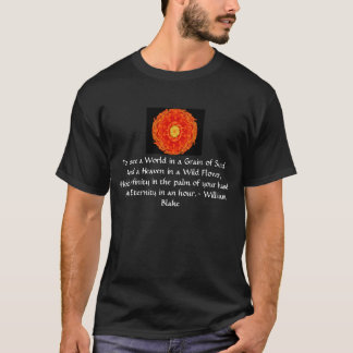 "William Blake ""World in a Grain of Sand"" quote T-Shirt"