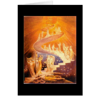 William Blake's Jacob's Ladder Card