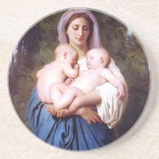 William Bouguereau_Charity(1878) Coaster