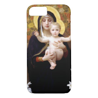 William Bouguereau- The Madonna of the Lilies Case-Mate iPhone Case