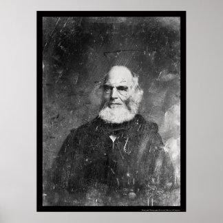 William  Bryant Daguerreotype 1851 Poster