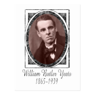 William Butler Yeats Postcard