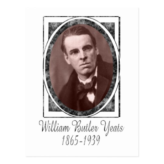 William Butler Yeats Postcard