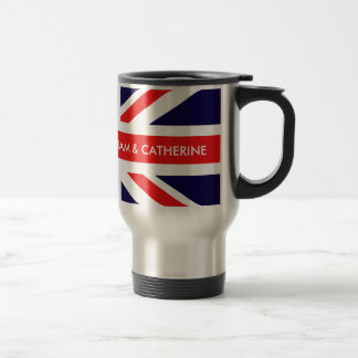 William & Catherine Travel Mug