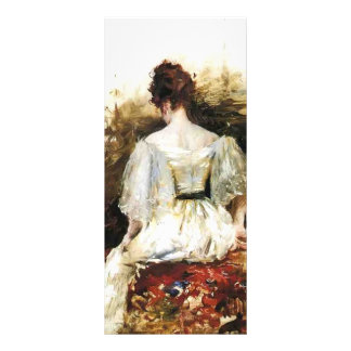 William Chase- Portrait of a Woman Personalized Rack Card