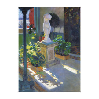 William de Leftwich Dodge Venus in Atrium Canvas Print