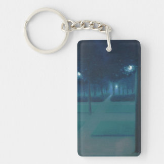 William Degouve de Nuncques - Parc Royal, Brussels Keychain