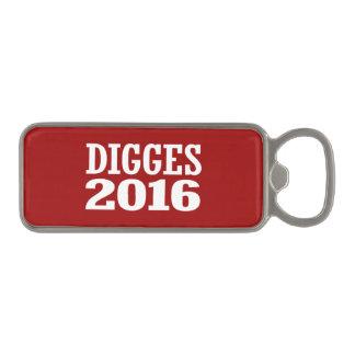 William Digges 2016 Magnetic Bottle Opener