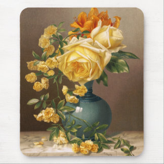 William Duffield: Marchal Niel Roses Mouse Pad