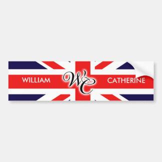 William et Catherine Adhésif Pour Voiture