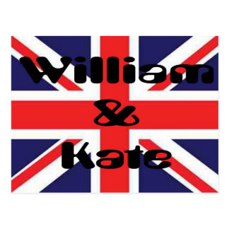 William et Kate Cartes Postales