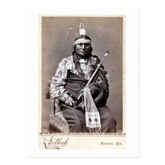 William Gilbert Gaul Native American Indian Postcard