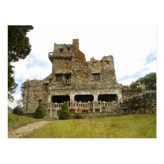 William Gillette Castle Postcard
