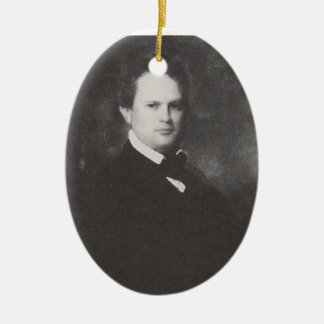 William Gilmore Simms Ceramic Ornament